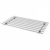 ЛЭМПЛИГ Подставка под горячее, нержавеющ сталь, 50x28 см
