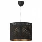 НИМО / СЕКОНД Подвесной светильник, черный латунь, черный, 44 см